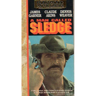 A Man Called Sledge On VHS With James Garner - D610009