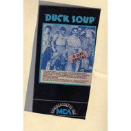 Duck Soup On VHS - D610098