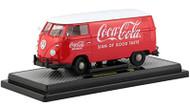 1960 Volkswagen Delivery Van Coca-Cola Red With White Top Limited - EE743550