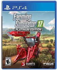 Farming Simulator 17 Platinum Edition For PlayStation 4 PS4 PS5 - EE743567