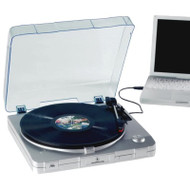 Innovative Technology ITUT-201 USB Turntable Silver - EE743737