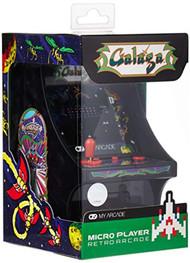 My Arcade Micro Player Mini Arcade Machine: Galaga Video Game Fully - EE743828