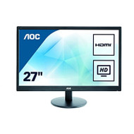 AOC 27 Inch E2770SHE 1080P Wled LCD Monitor Hdmi/vga Widescreen Ultra - EE743845