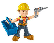 Fisher-Price Bob The Builder Repair And Build Bob Toy Blue Action QIL4 - EE743866