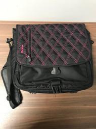 Targus Pink And Black Nylon Laptop Messenger Bag With Shoulder Strap - EE743950