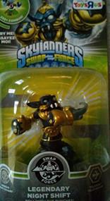 Skylanders Swap Force Character Legendary Night Shift Figure figure 84 - EE743951