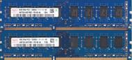 2X4GB 8GB Total Hynix HMT451U6AFR8C-PB 4GB PC3-12800U Desktop Memory - EE743976