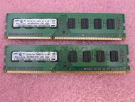 Samsung M378B5673FH0-CH9 4GB 2 X 2GB PC3-10600U DDR3 1333 Desktop - EE743982