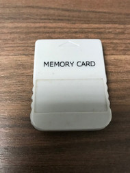 1 MB Gray Memory Card For PlayStation 1 PS1 Expansion Grey - EE743999