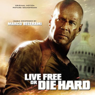 Live Free Or Die Hard By Marco Beltrami Composer On Audio CD Album - EE744044