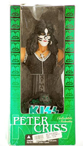 Kiss 2002 Mcfarlane Kiss Collectible Statuette Bust Peter Criss The - EE744074
