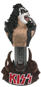 Mcfarlane Toys Rock N' Roll Kiss Statuette Of Gene Simmons The Demon - EE744075