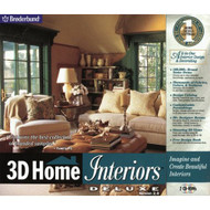 3-D Home Interiors Deluxe 2.0 Software - DD566590