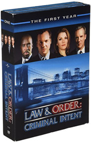 Law And Order Criminal Intent The First Year On DVD With Vincent D - EE744168