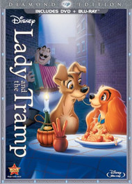 Lady And The Tramp Diamond Edition Two-Disc Blu-Ray/dvd Combo With - EE744217