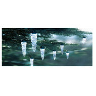 Holiday Time 30 Count LED Icicle Strands Christmas Lights Cool White - DD567011