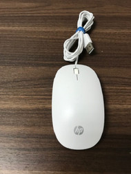 HP USB White Wired Mouse Model TPC-P00M - EE744250