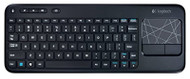 "Logitech Wireless K400R 79 Key Slim Keyboard W/3.5"" Touchpad And Nano - EE744259"