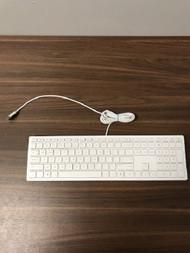 HP White Wired USB Keyboard Model TPC-P001K - EE744260