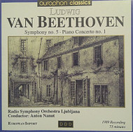 Symphony 5 / Piano Concerto 1 By Beethoven Composer And Nanut - EE744267