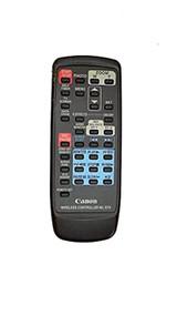 Canon WL-D74 Camcorder Remote Control - EE744343