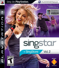 Singstar Vol 2 Stand Alone For PlayStation 3 PS3 Music - EE744363