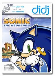 Leapfrog Didj Custom Learning Game Sonic The Hedgehog For Leap Frog - EE744372