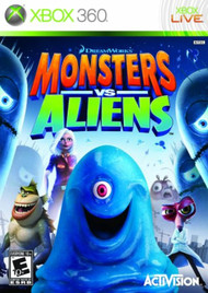 Monsters Vs Aliens For Xbox 360 - EE744377