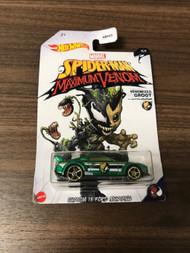 Hot Wheels Marvel Spiderman Maximum Venom Venomized Groot Custom '15 - EE744411
