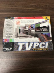 Tvpci Television Tuner TV On Your PC With Intel Intercast Technology - EE744428