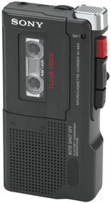 Sony M-450 Microcassette Recorder With 30 Hours Of Battery Life - EE744456