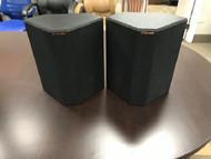 Klipsch RP-250S Walnut Surround Sound Speakers Pair Black Home Theater - EE744461