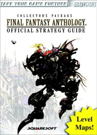 Final Fantasy Anthology Official Strategy Guide Brady Games - EE744473