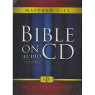 Bible On Audio CD Volume 1: Matthew 1-15 New Testament On Audiobook CD - DD570123