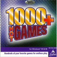 1000 Hot Games PC On Audio CD Album Software - DD570705