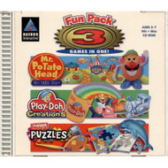 Hasbro Fun Pack 3 Games In One! PC Software - DD571323