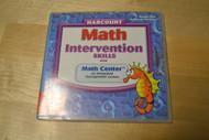 Harcourt Math Intervention Skills With Math Center Level 3 Software - DD572636