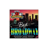 Best Of Broadway On Audio CD Album 1997 - DD583004