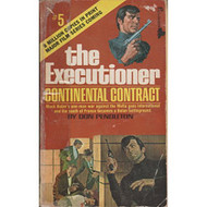 Continental Contract The Executioner #5 By Don Pendleton Book - DD584632
