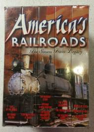 America's Railroads: The Steam Train Legacy On VHS - DD585284
