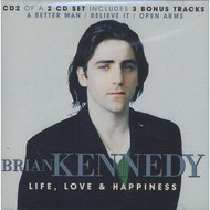 Life Love & Happiness By Brian Kennedy On Audio CD Album - DD587529
