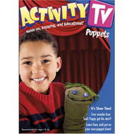 ActivityTV Fun With Puppets V.1 On DVD With Educational Activities - DD597295