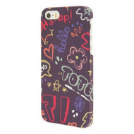End Scene iPhone 5 5S Graffiti Doodle Case Cover - DD603091