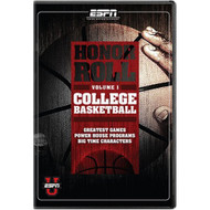 Honor Roll College Basketball Vol 1 On DVD with Basketball Players - DD604026