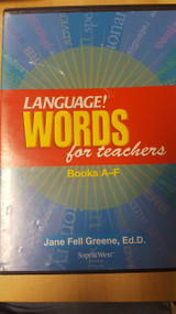 Language Words For Teachers Book A-F On DVD - DD605198