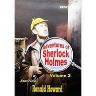 Adventures Of Sherlock Holmes Volume 2 Slim Case On DVD With Ronald - DD608667