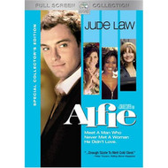 Alfie Full Screen Edition On DVD With Jude Law Comedy - DD621139