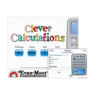 Evan Moor Clever Calculations Interactive App Software - DD627299