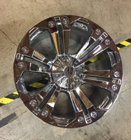 24X10 Chrome XD Monster Wheel 6X135 / 5.5 -44 Offset Hub 106.25 XD7782 - DD629753