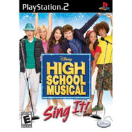 High School Musical Sing It No Microphones /PS2 For PlayStation 2 - DD638326